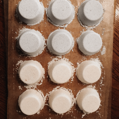 Corn Starch Bath Bombs